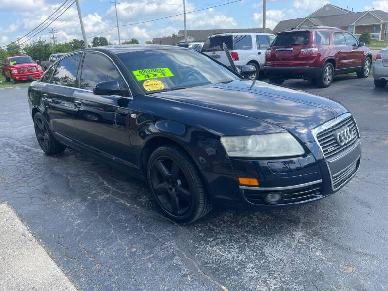 2007 Audi A6 for sale at C&C Affordable Auto and Truck Sales in Tipp City OH