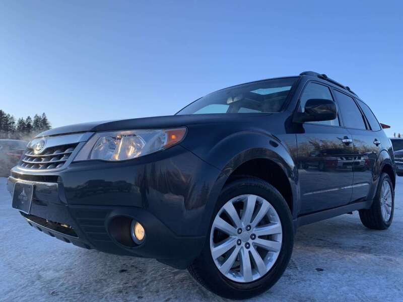 2012 Subaru Forester for sale at LUXURY IMPORTS in Hermantown MN