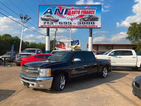 2013 Chevrolet Silverado 1500 for sale at ANF AUTO FINANCE in Houston TX