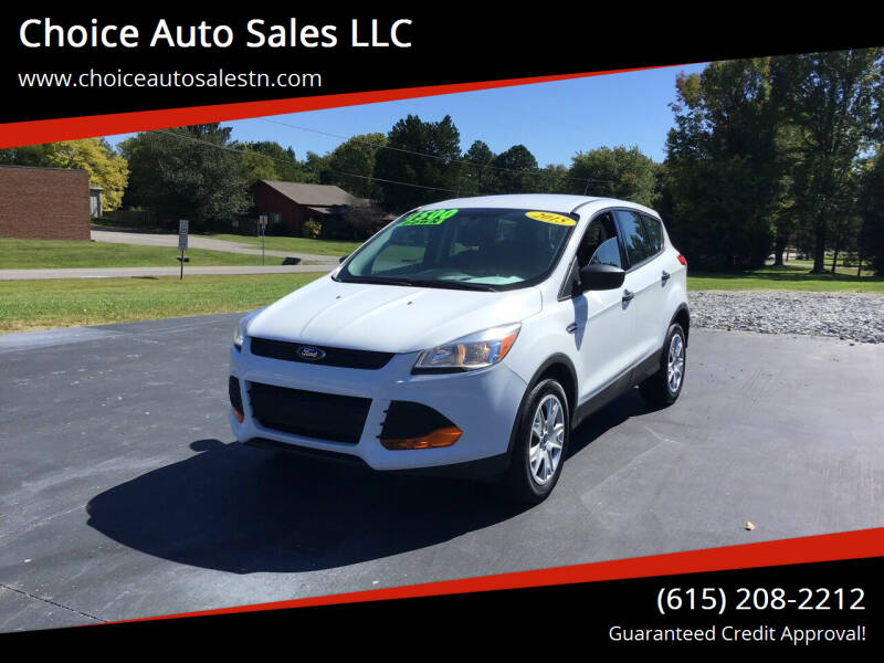 2015 Ford Escape for sale at Choice Auto Sales LLC - Buy Here Pay Here in White House TN