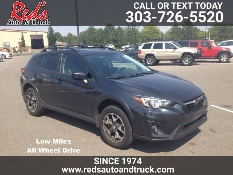 2018 Subaru Crosstrek for sale at Red's Auto and Truck in Longmont CO