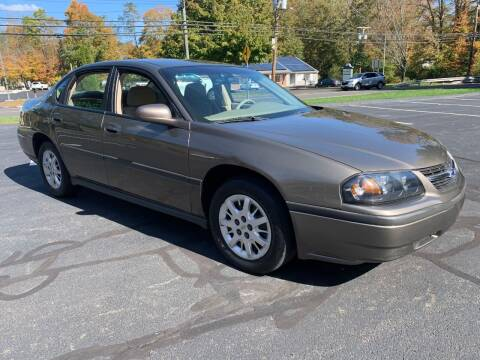 2003 Chevrolet Impala for sale at Volpe Preowned in North Branford CT