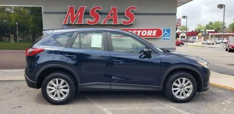 2015 Mazda CX-5 for sale at MSAS AUTO SALES in Grand Island NE