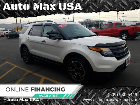 2014 Ford Explorer for sale at Auto Max USA in Yakima WA