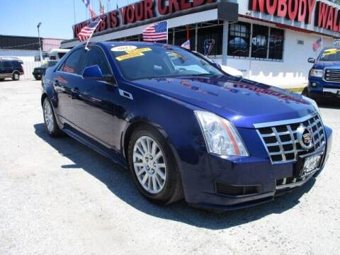 2012 Cadillac CTS for sale at Giant Auto Mart 2 in Houston TX