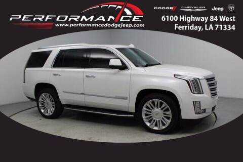 2016 Cadillac Escalade for sale at Performance Dodge Chrysler Jeep in Ferriday LA