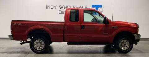 2001 Ford F-250 Super Duty for sale at Indy Wholesale Direct in Carmel IN
