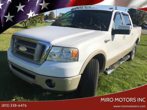 2008 Ford F-150 for sale at Miro Motors INC in Woodstock IL