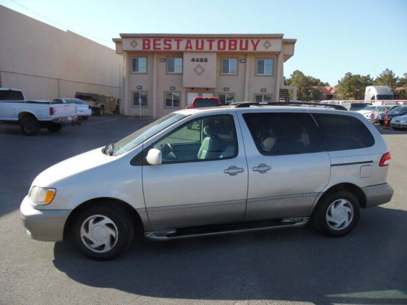 2002 Toyota Sienna for sale at Best Auto Buy in Las Vegas NV