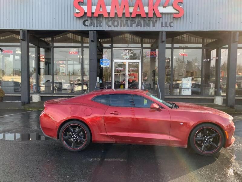 2017 Chevrolet Camaro for sale at Siamak's Car Company llc in Salem OR