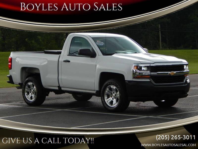 2016 Chevrolet Silverado 1500 for sale at Boyles Auto Sales in Jasper AL
