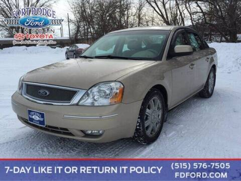 2007 Ford Five Hundred for sale at Fort Dodge Ford Lincoln Toyota in Fort Dodge IA