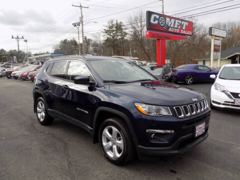 2020 Jeep Compass for sale at Comet Auto Sales in Manchester NH