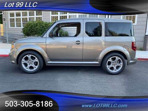 2008 Honda Element for sale at LOT 99 LLC in Milwaukie OR