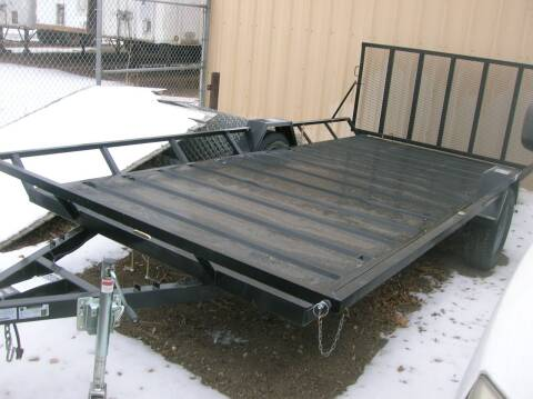 2020 Echo Trailers ATV Trailer for sale at HORSEPOWER AUTO BROKERS in Fort Collins CO