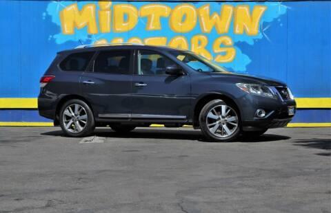 2013 Nissan Pathfinder for sale at Midtown Motors in San Jose CA