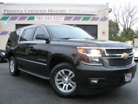2016 Chevrolet Suburban for sale at Prestige Certified Motors in Falls Church VA