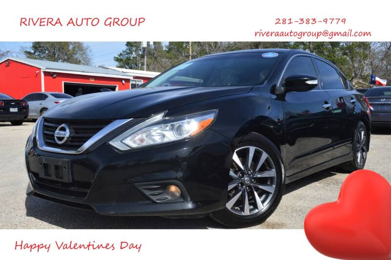 2016 Nissan Altima for sale at Rivera Auto Group in Spring TX