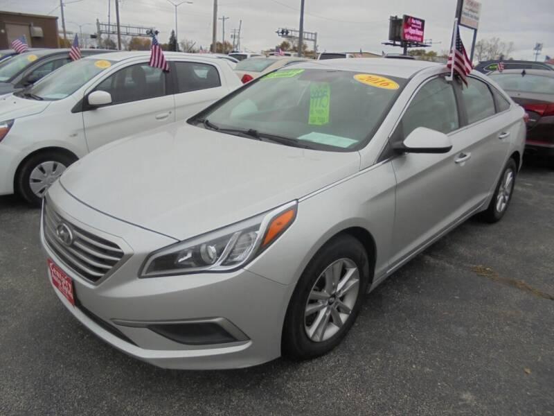 2016 Hyundai Sonata for sale at Century Auto Sales LLC in Appleton WI