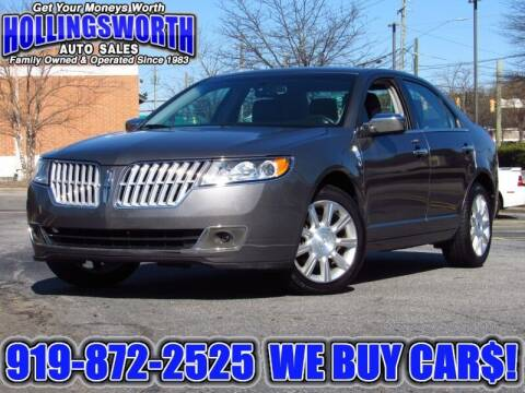 2011 Lincoln MKZ for sale at Hollingsworth Auto Sales in Raleigh NC