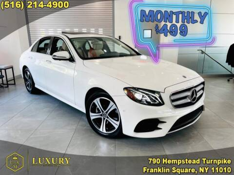 2019 Mercedes-Benz E-Class for sale at LUXURY MOTOR CLUB in Franklin Square NY