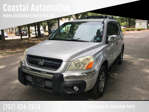 2003 Honda Pilot for sale at Coastal Automotive in Virginia Beach VA