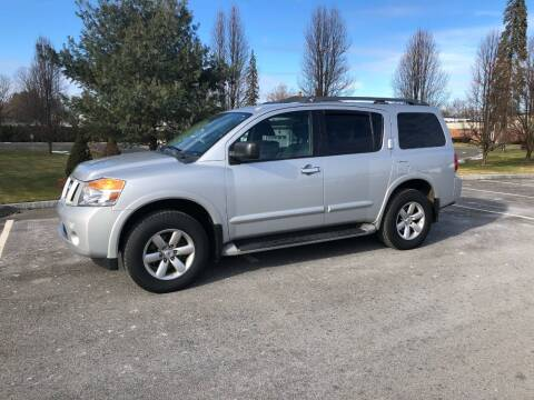 2014 Nissan Armada for sale at Chris Auto South in Agawam MA