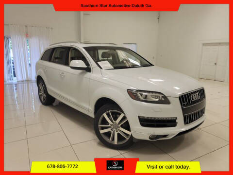 2013 Audi Q7 for sale at Southern Star Automotive, Inc. in Duluth GA