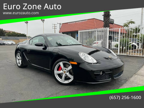 2007 Porsche Cayman for sale at Euro Zone Auto in Stanton CA