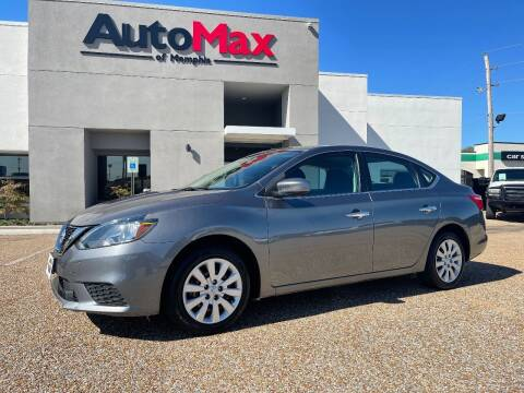 2018 Nissan Sentra for sale at AutoMax of Memphis - V Brothers in Memphis TN