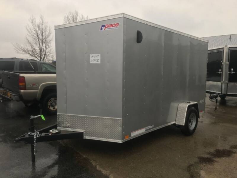 2021 Pace American 7x12 V-nose Single 5K Axle for sale at Forkey Auto & Trailer Sales in La Fargeville NY