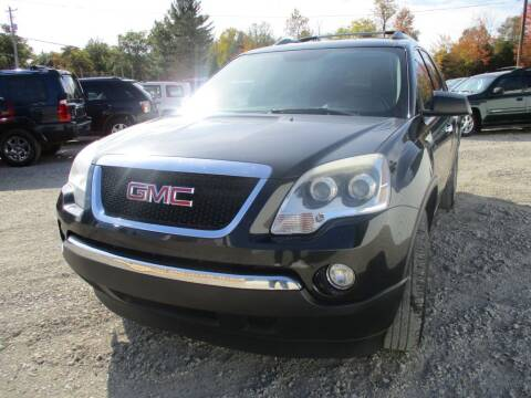 2010 GMC Acadia for sale at Hilltop Auto in Prescott MI