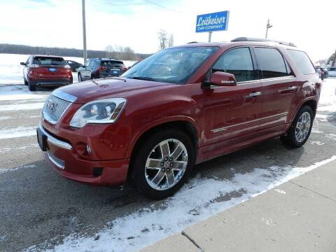 2012 GMC Acadia for sale at Leitheiser Car Company in West Bend WI