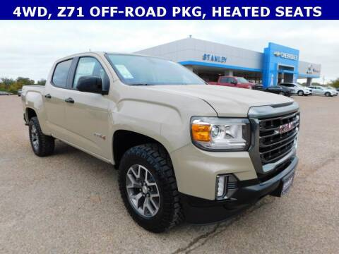 2021 GMC Canyon for sale at Stanley Chrysler Dodge Jeep Ram Gatesville in Gatesville TX