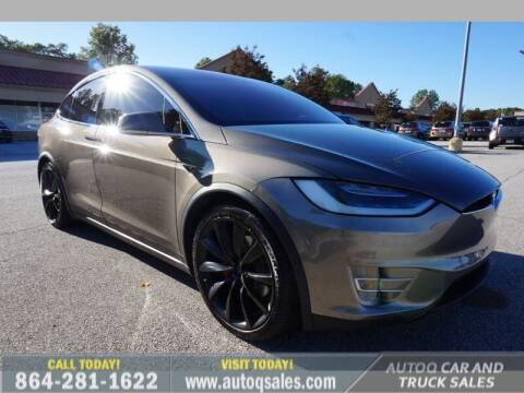 2016 Tesla Model X for sale at Auto Q Car and Truck Sales in Mauldin SC