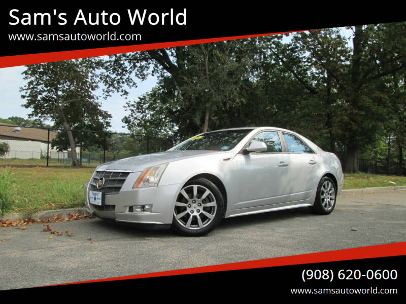 2011 Cadillac CTS for sale at Sam's Auto World in Roselle NJ