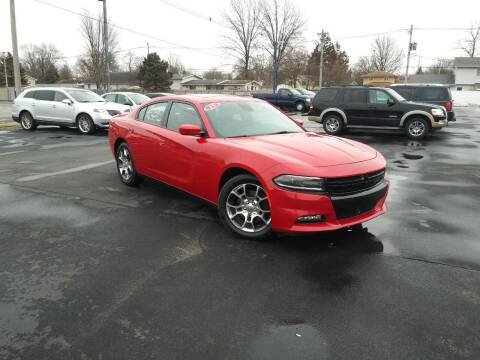 2015 Dodge Charger for sale at CITY SELECT MOTORS in Galesburg IL