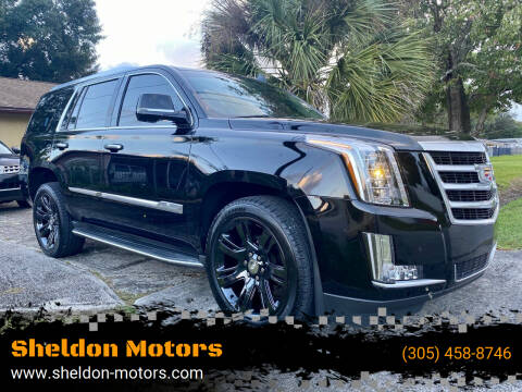 2015 Cadillac Escalade for sale at Sheldon Motors in Tampa FL
