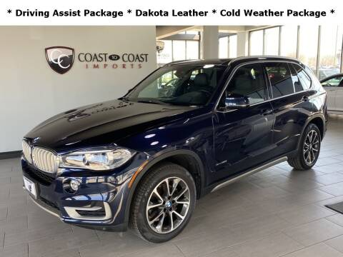 2017 BMW X5 for sale at Coast to Coast Imports in Fishers IN