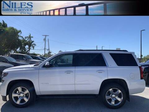 2016 Chevrolet Tahoe for sale at Niles Sales and Service in Key West FL