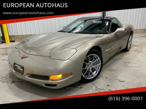 1998 Chevrolet Corvette for sale at EUROPEAN AUTOHAUS in Holland MI