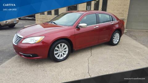 2014 Chrysler 200 for sale at CARTIVA in Stillwater MN