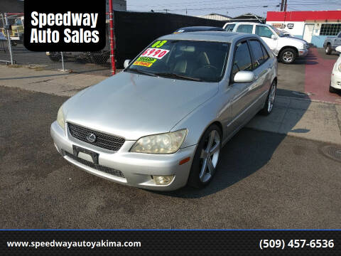 2003 Lexus IS 300 for sale at Speedway Auto Sales in Yakima WA