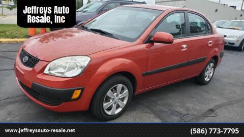 2008 Kia Rio for sale at Jeffreys Auto Resale, Inc in Clinton Township MI