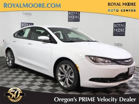 2015 Chrysler 200 for sale at Royal Moore Custom Finance in Hillsboro OR