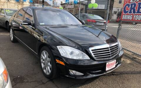 2007 Mercedes-Benz S-Class for sale at Riverside Wholesalers 2 in Paterson NJ