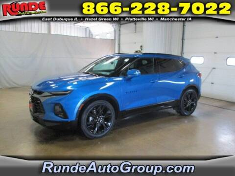 2020 Chevrolet Blazer for sale at Runde PreDriven in Hazel Green WI