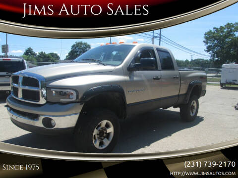 2004 Dodge Ram Pickup 2500 for sale at Jims Auto Sales in Muskegon MI