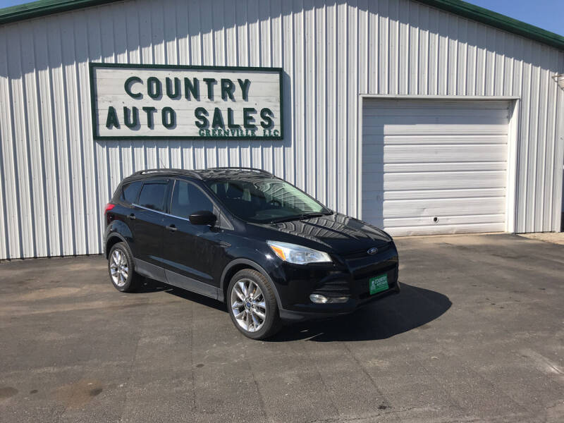 2016 Ford Escape for sale at COUNTRY AUTO SALES LLC in Greenville OH
