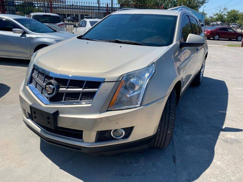 2012 Cadillac SRX for sale at Sam's Auto Sales in Houston TX